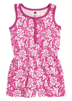 Tea Collection Hawaiian Knit Romper (Toddler Girls, Little Girls & Big Girls)