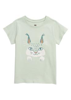 Tea Collection Here Lynxy Lynxy Graphic Tee (Toddler, Little Girl & Big Girl)