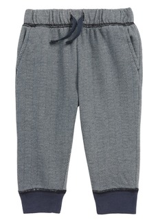 Tea Collection Herringbone Jogger Pants (Baby)