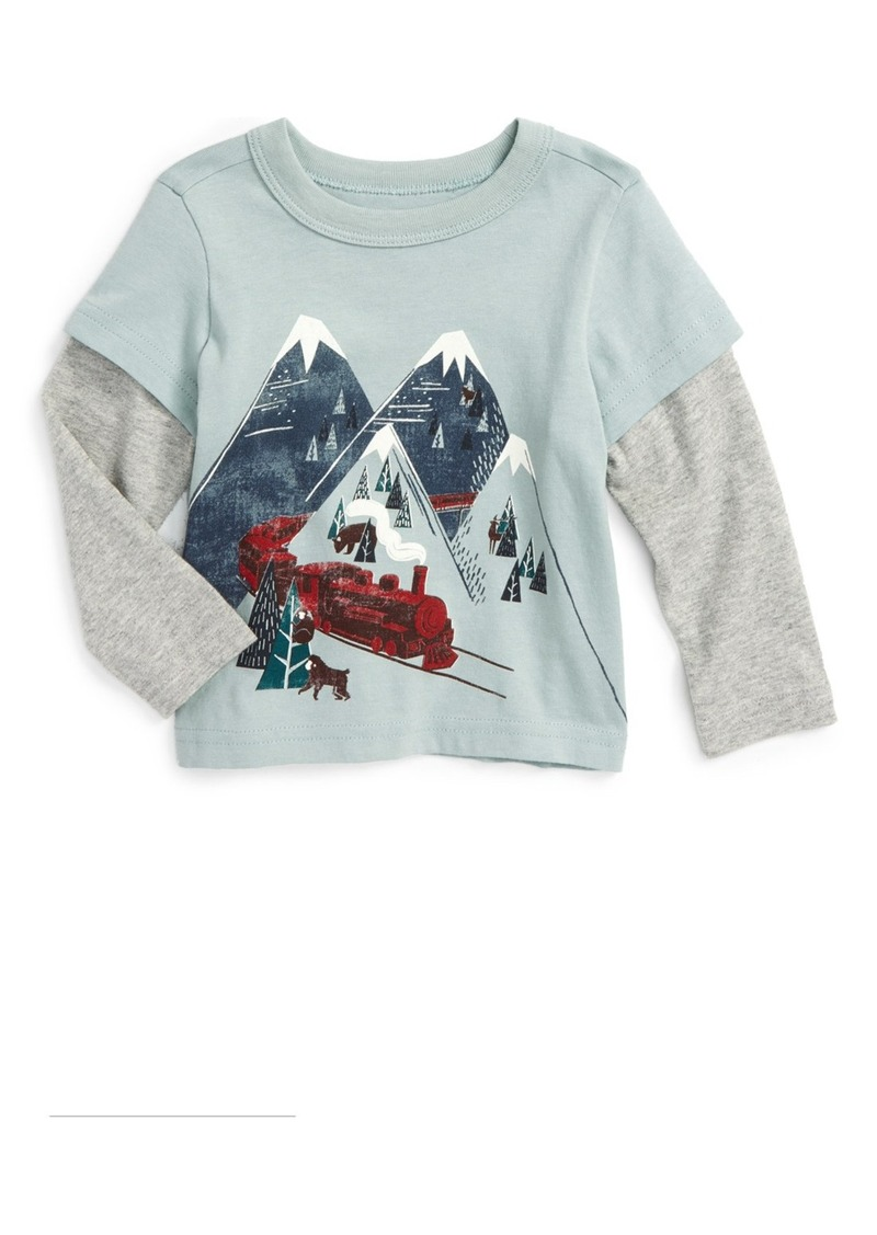 Tea Collection Hikari Graphic Shirt (Baby Boys)