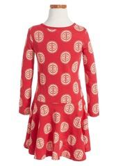 Tea Collection Kaguya Skirted Dress (Toddler Girls, Little Girls & Big Girls)