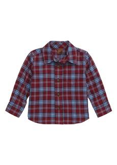Tea Collection Lakeshore Plaid Woven Shirt (Baby)