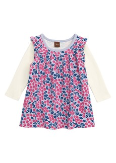Tea Collection Layered Print Dress (Baby)