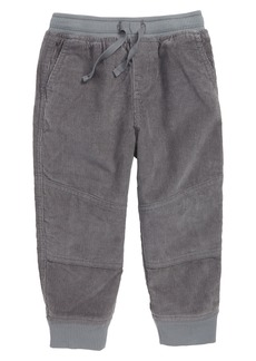 Tea Collection Lined Corduroy Jogger Pants (Baby Boys)