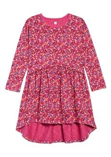 Tea Collection Long Sleeve High/Low Dress (Toddler Girls, Little Girls & Big Girls)