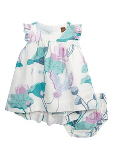Tea Collection Lotus High/Low Dress (Baby)