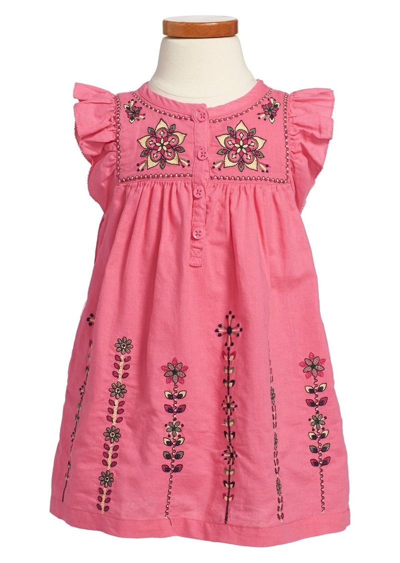 Tea Collection Tea Collection U0026#39;Malati Kanthau0026#39; Embroidered Dress (Toddler Girls Little Girls ...