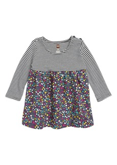 Tea Collection Mixed Print Dress (Baby Girls)