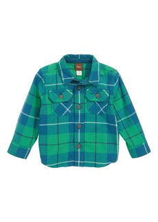 Tea Collection Plaid Shirt (Baby Boys)