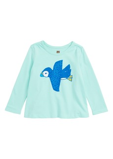 Tea Collection Playful Puffin Graphic Tee (Baby Girls)