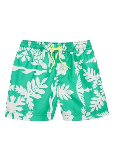 Tea Collection Print Swim Trunks (Baby Boys)