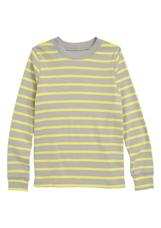 Tea Collection Purity Stripe T-Shirt (Toddler Boys & Little Boys)