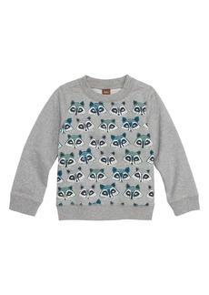 Tea Collection Racoon Sweatshirt (Baby Boys)
