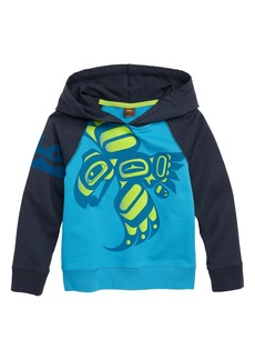 Tea Collection Raven Graphic French Terry Pullover Hoodie (Toddler Boys & Little Boys)