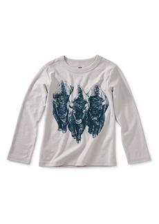 Tea Collection Roaming Buffalo Graphic T-Shirt (Toddler Boys & Little Boys)