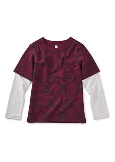 Tea Collection Scandi Layered T-Shirt (Toddler Boys & Little Boys)
