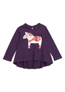 Tea Collection Scandi Pony Twirl Tee (Baby)