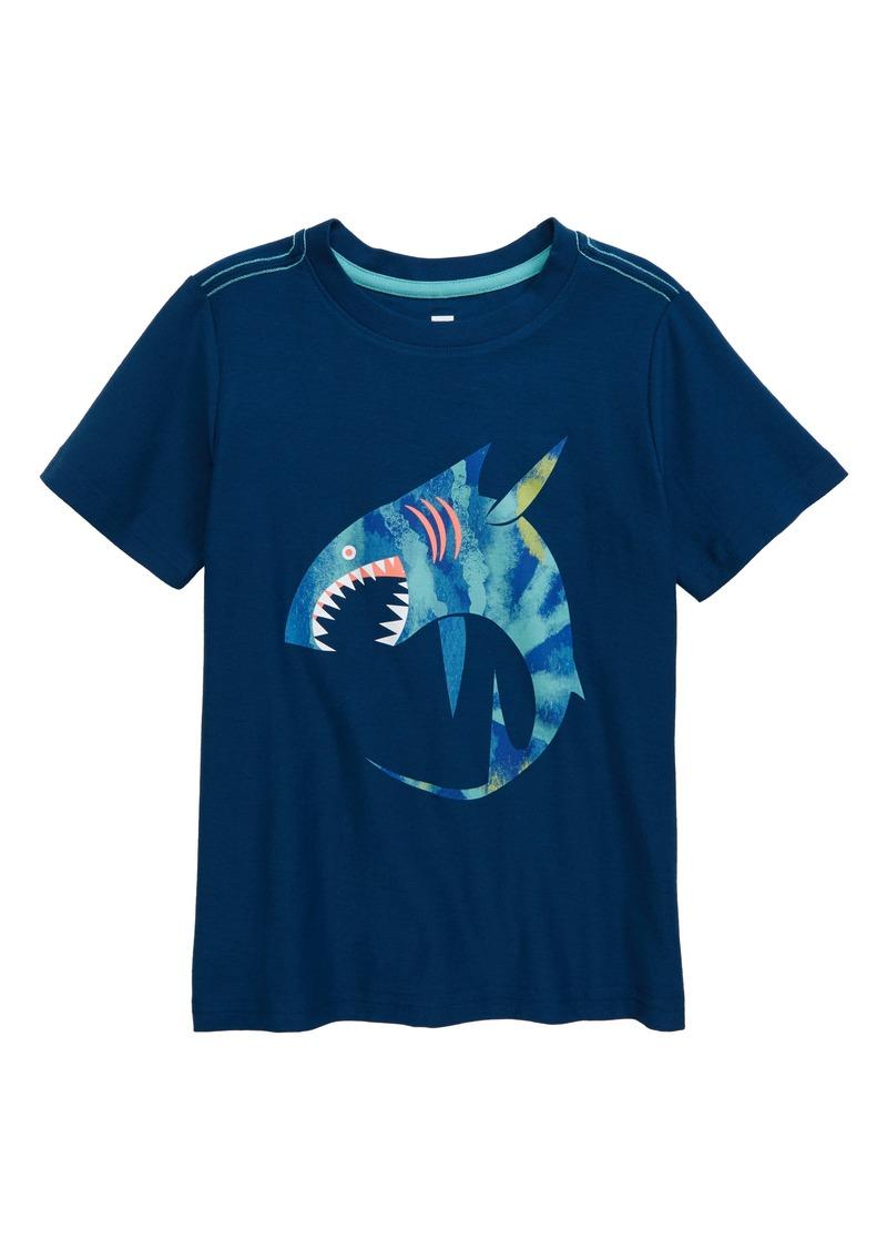 Tea Collection Shark Graphic Tee (Toddler Boys & Little Boys)