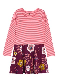 Tea Collection Skirted Dress (Toddler Girls, Little Girls & Big Girls)