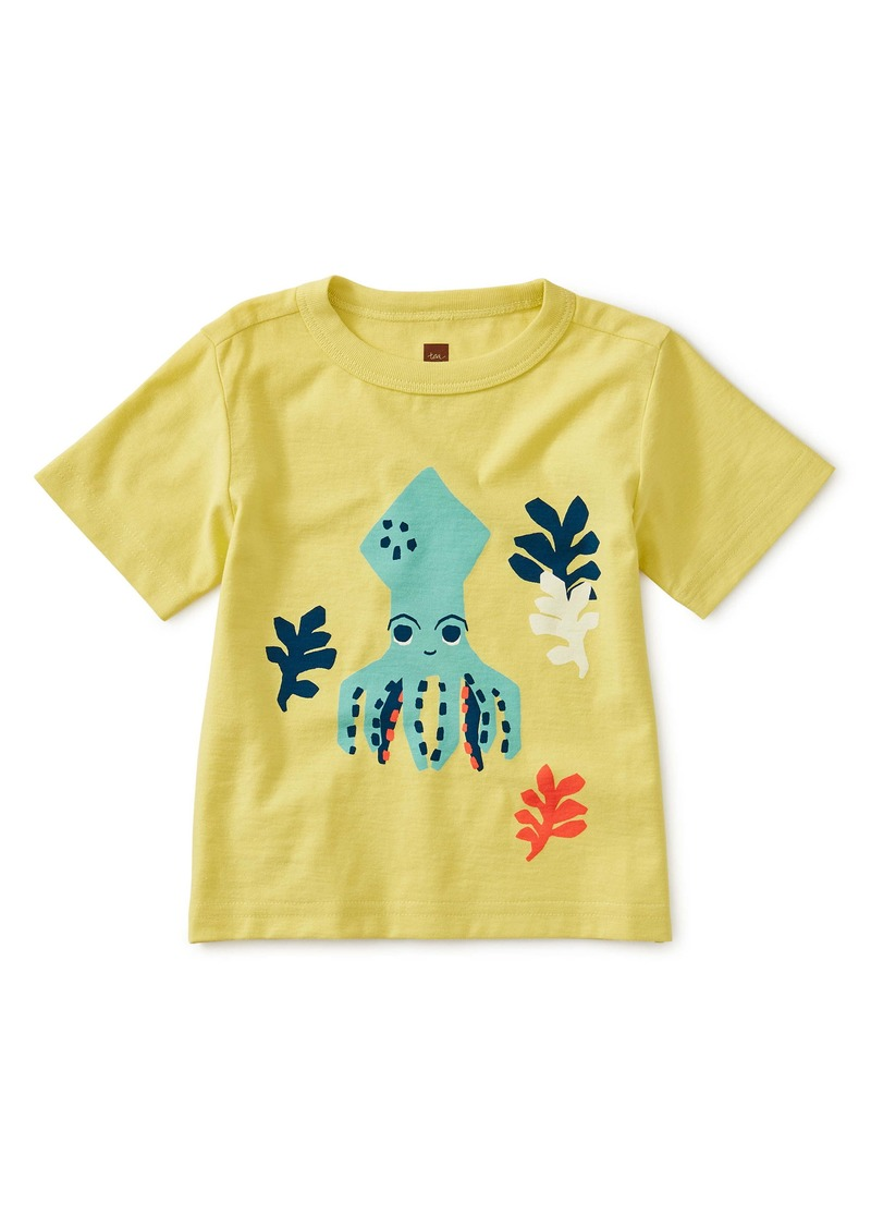 Tea Collection Squid Graphic T-Shirt (Baby)