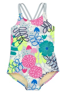 Tea Collection Strappy Back One-Piece Swimsuit (Toddler Girls, Little Girls & Big Girls)