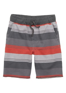 Tea Collection Stripe Cruiser Shorts (Baby Boys)