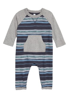 Tea Collection Stripe Romper (Baby Boys)