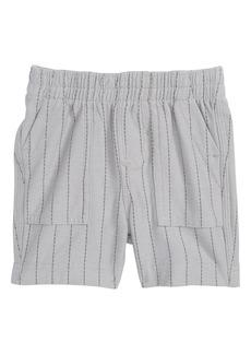 Tea Collection Stripe Shorts (Baby Boys)