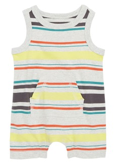 Tea Collection Stripe Tank Romper (Baby)