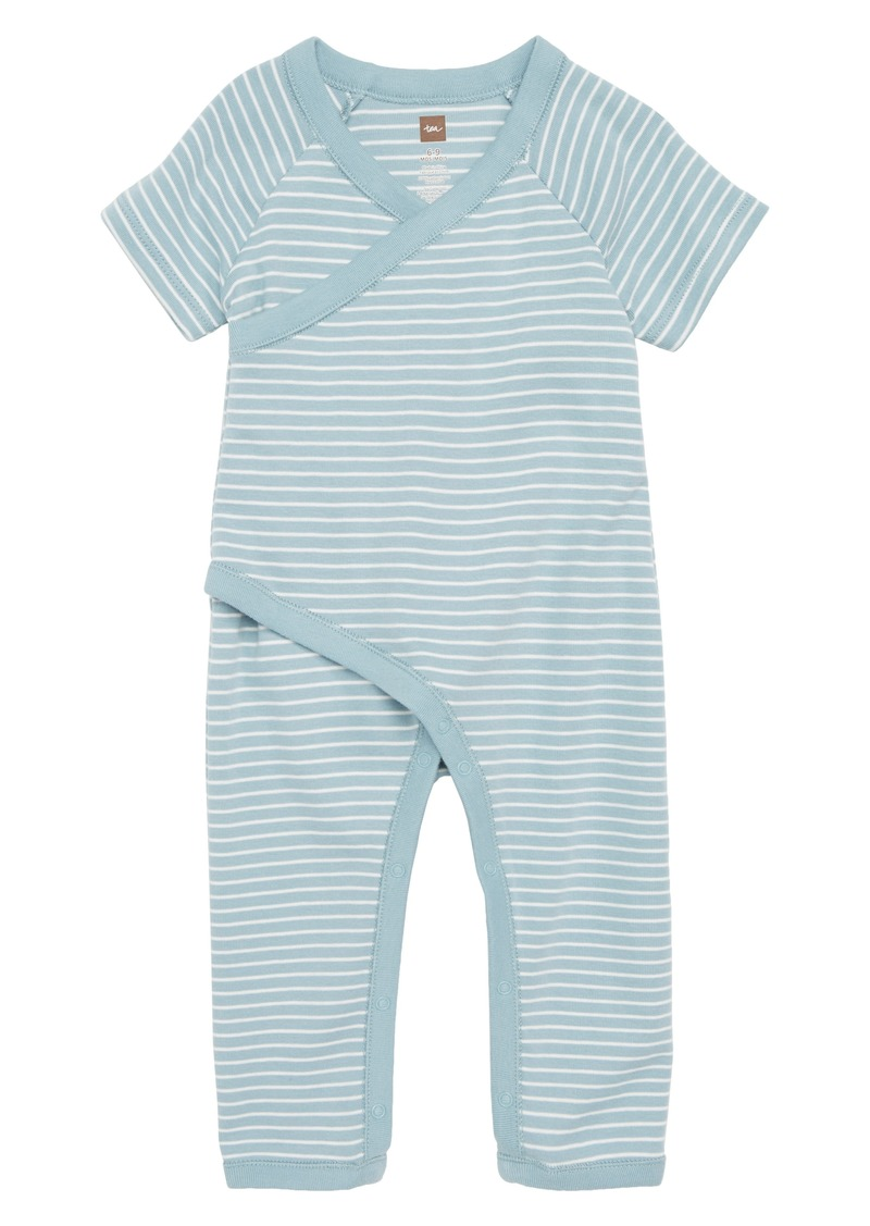 7a5825e46a4 Tea Collection Tea Collection Stripe Wrap Romper (Baby)