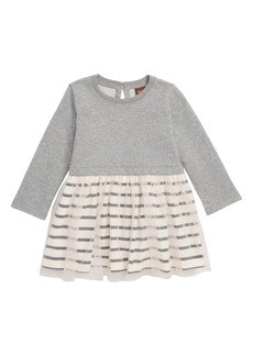 Tea Collection Striped Tulle Dress (Baby Girls)
