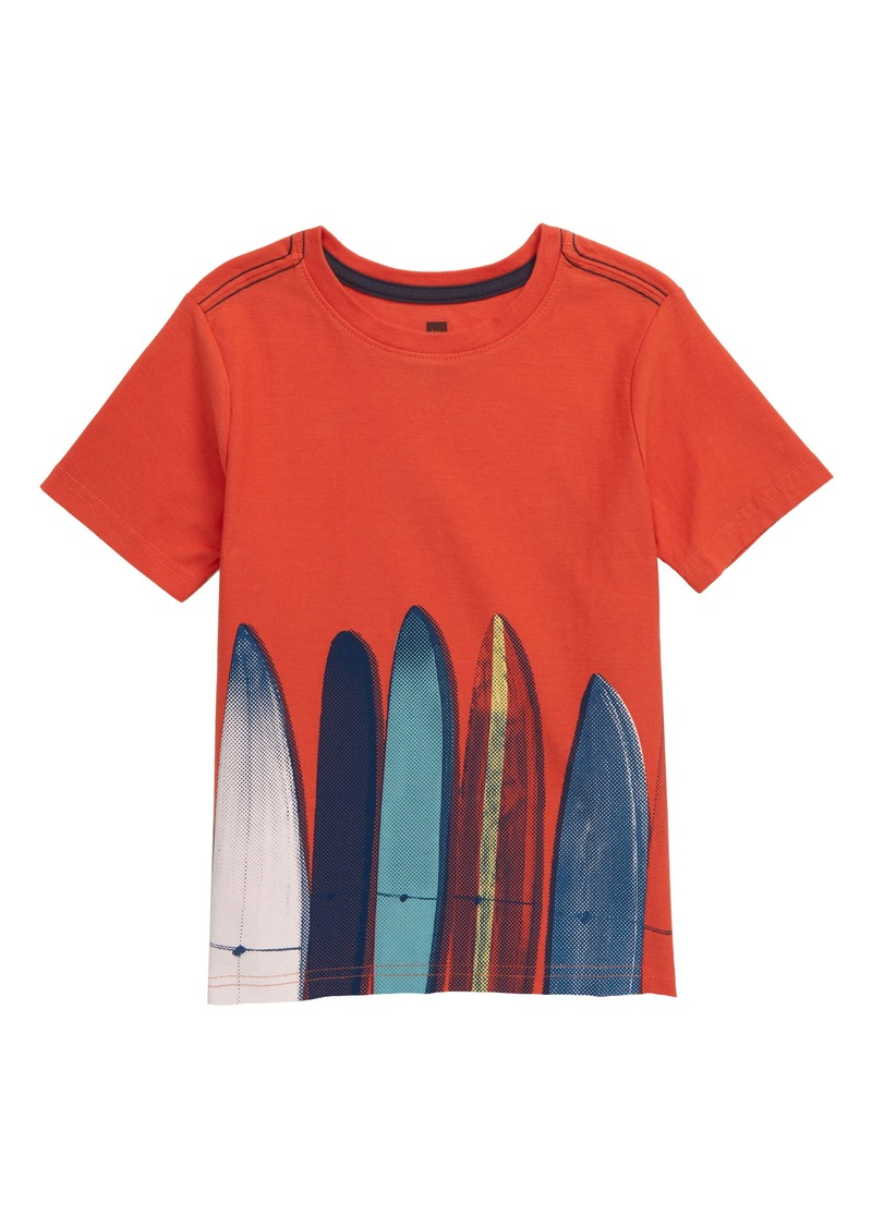 Tea Collection Surfboard Graphic Tee (Toddler Boys & Little Boys)