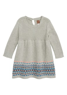 Tea Collection Sweater Dress (Baby Girls)