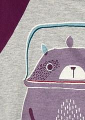Tea Collection Tanuki Teapot Graphic Tee (Toddler Girls, Little Girls & Big Girls)