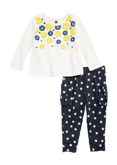 Tea Collection Top & Leggings Set (Baby Girls)