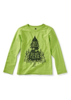 Tea Collection Trees Please Graphic T-Shirt (Toddler Boys & Little Boys)