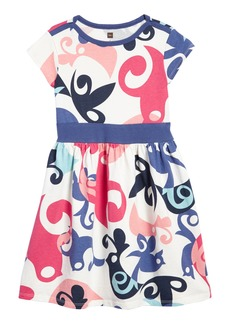 Tea Collection Tweet Dress (Toddler Girls, Little Girls & Big Girls)