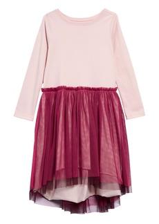 Tea Collection Twirling Tulle Dress (Toddler Girls, Little Girls & Big Girls)
