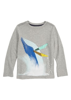 Tea Collection Whale Splash Graphic T-Shirt (Toddler Boys & Little Boys)