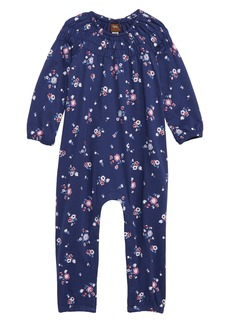 Tea Collection Winter Blooms Romper (Baby)