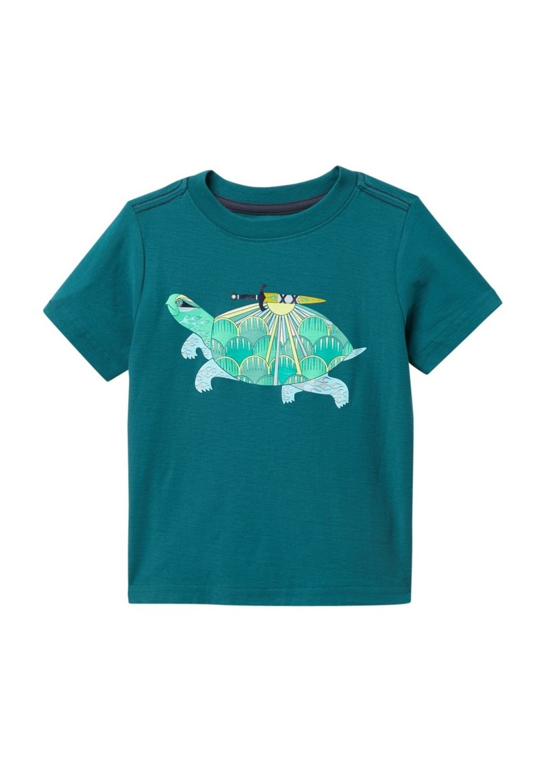 Tea Collection Thalian Turtle Graphic T-Shirt (Toddler & Little Boys)