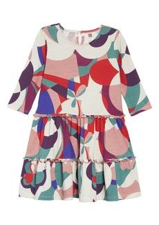Tea Collection Tiered Dress (Toddler Girls, Little Girls & Big Girls)