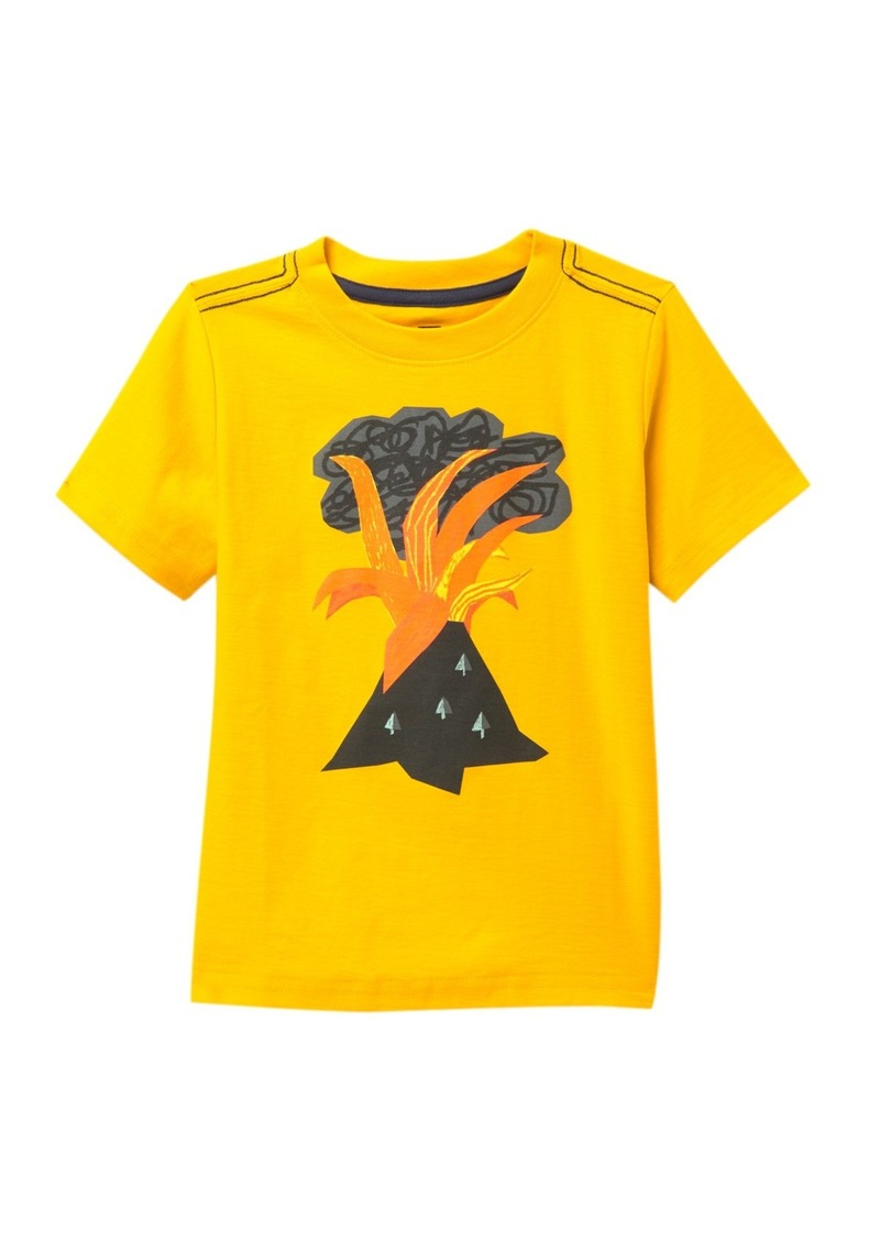 Tea Collection Volcano Graphic T-Shirt (Toddler & Little Boys)