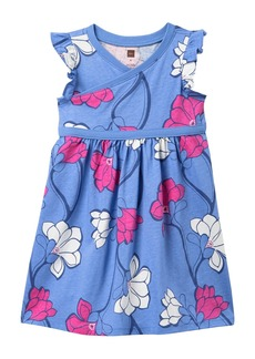 Tea Collection Wrap Neck Dress (Toddler Girls, Little Girls & Big Girls)
