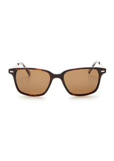 Ted Baker 52mm Square Polarized Plastic Frame Sunglasses