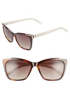 Ted Baker 54mm Full Rim Sunglasses