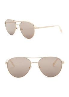 Ted Baker 56mm Aviator Sunglasses