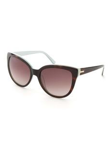 Ted Baker 57mm Acetate Cat Eye Sunglasses