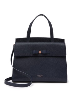 Ted Baker Aarilli Bow Leather Satchel