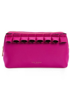 Ted Baker Adalyn Ruffle Cosmetics Case